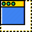 communication, interface, minimize, user icon