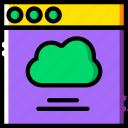 cloud, communication, interface, user