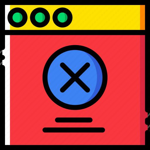 communication, error, interface, message, user icon