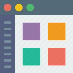 app, communication, interface, user, web icon