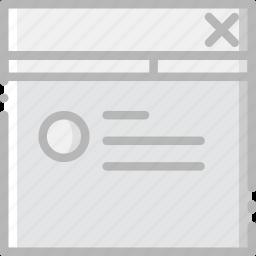communication, explorer, interface, internet, user icon