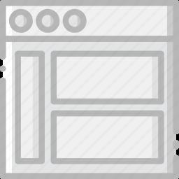 communication, interface, left, sidebar, user icon