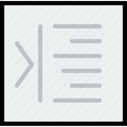 alignment, communication, increment, interface, right, user icon