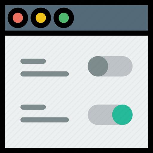 communication, interface, settings, user icon