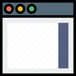 communication, interface, right, sidebar, user icon
