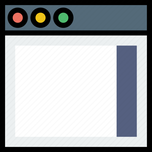 communication, interface, right, sidebar, user icon