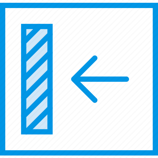 align, communication, interface, left, to, user icon
