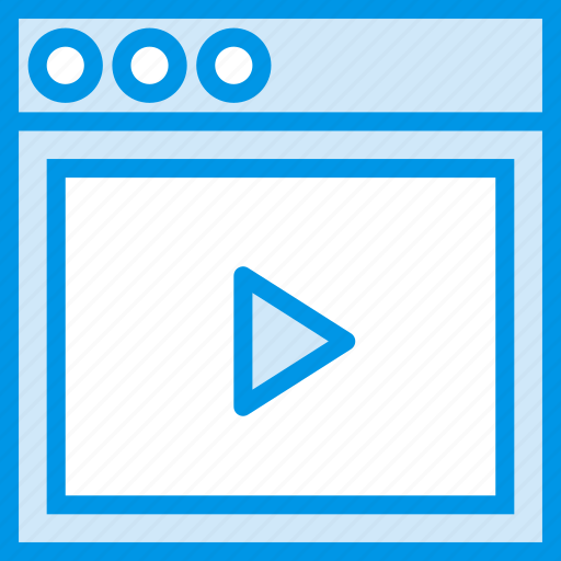 communication, content, interface, user, video icon