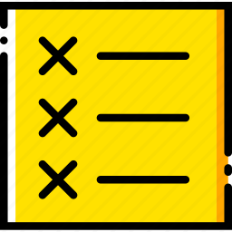 communication, interface, list, unordered, user icon