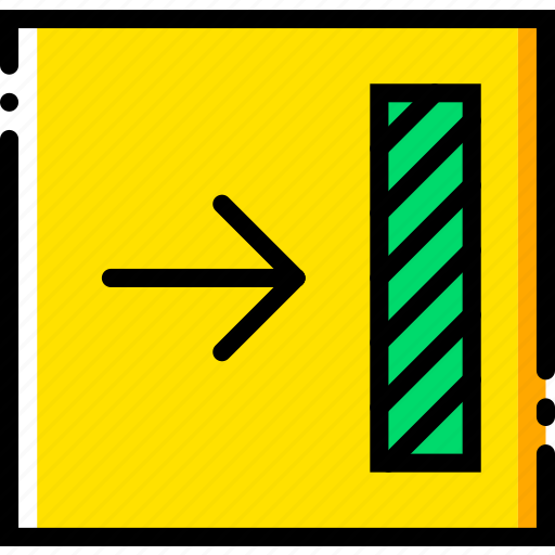 align, communication, interface, right, to, user icon