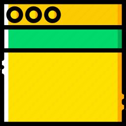 communication, header, interface, user icon