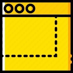 communication, interface, maximize, user icon