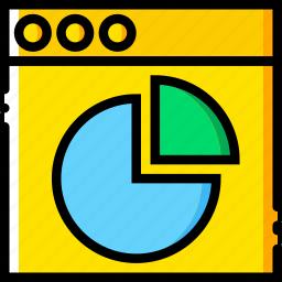 analytics, communication, interface, user icon