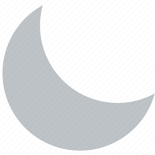 clouds, forecast, moon, sun, weather icon
