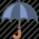 clouds, forecast, sun, umbrella, weather