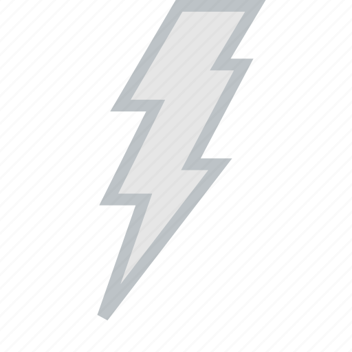clouds, forecast, lightning, sun, weather icon