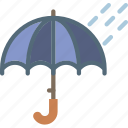 clouds, forecast, rainy, sun, time, weather icon