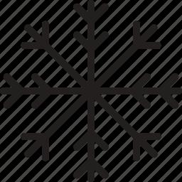 forecast, season, snowflake, weather, winter icon