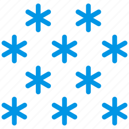 forecast, snow, snowflake, weather, webby, winter icon