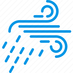 forecast, rain, storm, weather, webby, wind icon