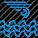 forecast, ocean, rain, storm, weather, webby, wind