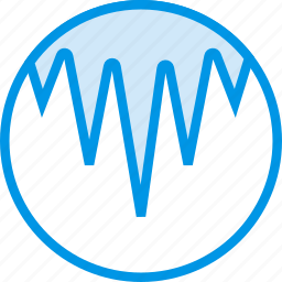 forecast, icicles, season, snow, weather, webby, winter icon
