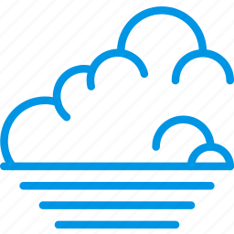 clouds, forecast, low, sky, tide, weather, webby icon