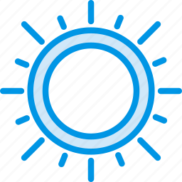 forecast, light, ray, sun, sunny, weather, webby icon