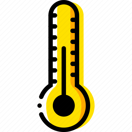 forecast, normal, temperature, weather, yellow icon