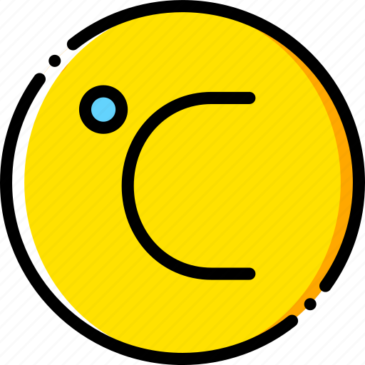 celsius, forecast, weather, yellow icon