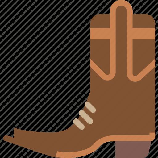 boots, cowboy, rider, riding icon