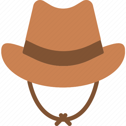 cap, clothing, cowboy, hat, west, wild icon