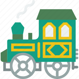cowboy, heist, thief, track, train, west, wild icon