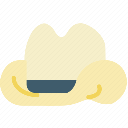 cap, cowboy, hat, mayor, west, wild icon