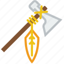axe, cowboy, hatchet, indian, tomahawk, weapon icon