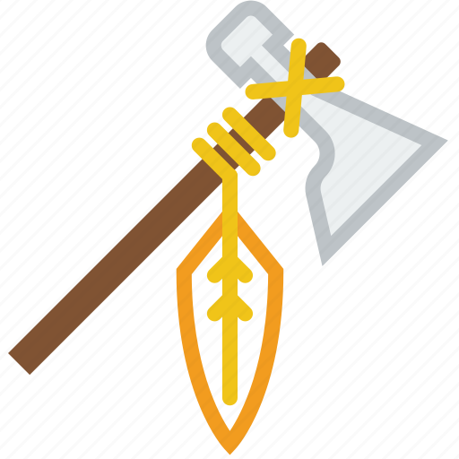 axe, cowboy, hatchet, indian, tomahawk, weapon icon