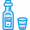 alcohol, bottle, cowboy, glass, tequila, webby, whiskey icon