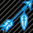 american, arrow, dart, indian, native, tip, webby icon