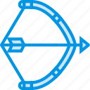 american, arrows, bow, dart, native, tip, webby icon