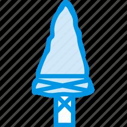 arrow, bow, dart, head, indian, tip, webby icon