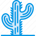 cactus, cowboy, desert, green, needle, webby, west icon