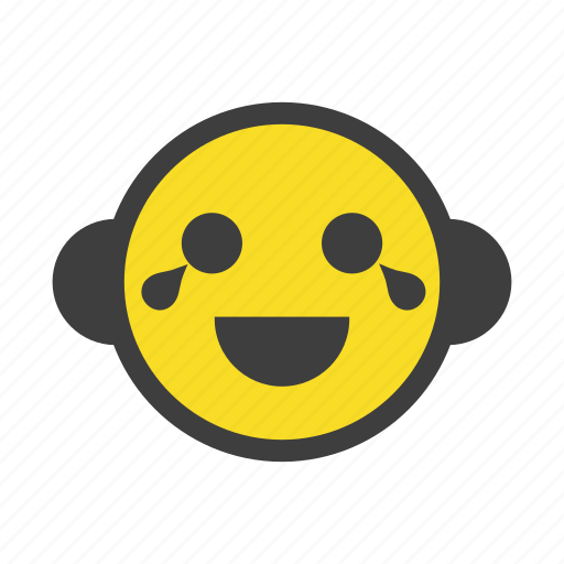emoji, emoticon, happy, laughing, lol, nervous, smile icon