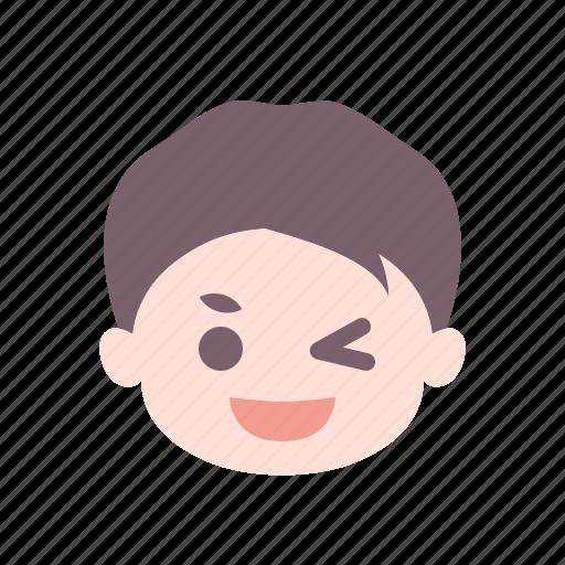 emoticon, face, happy, smile, smiley, smiling icon
