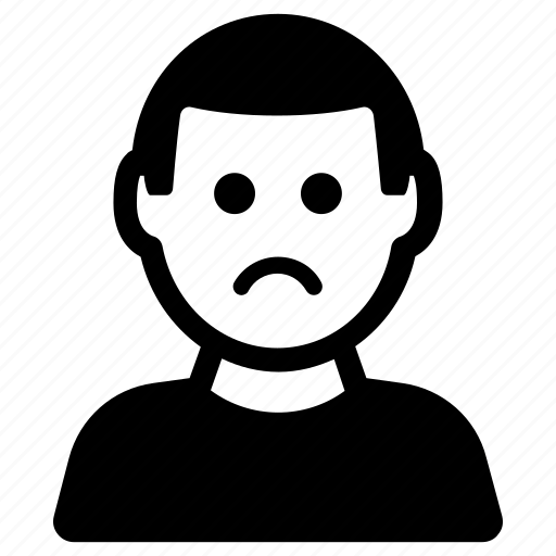 Depressed, sad, unhappy icon - Download on Iconfinder
