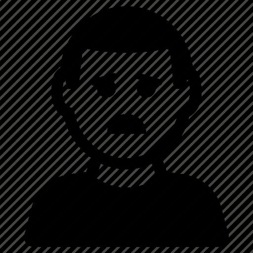 Depression, emoticon, sadness icon - Download on Iconfinder