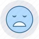 emoticon, emoticons, emotion, sad face, sadness, smile