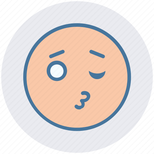 Emoji, expression, eyes, face, happy, kissing, love icon - Download on Iconfinder