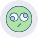 bored, expression, eyes, face, funny, funny eyes, rolling eyes icon