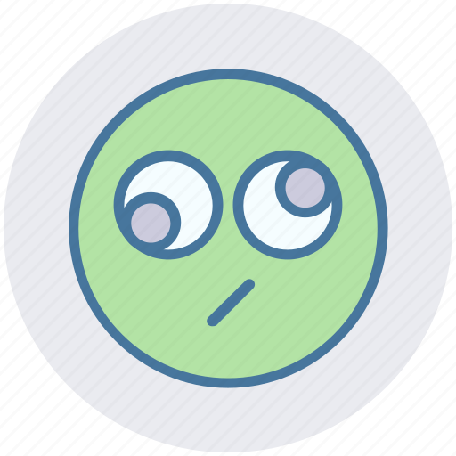 Bored, expression, eyes, face, funny, funny eyes, rolling eyes icon - Download on Iconfinder