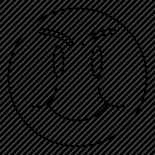 Emoji, emoticon, emoticons, face, fat, happy, smiley icon - Download on Iconfinder